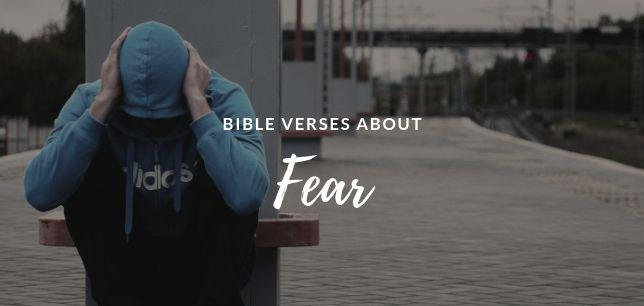 Bible Verses about Fear